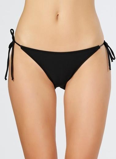T-Box İpli Bikini Altı Siyah